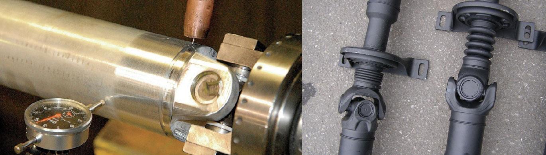 Fertigung und Reparatur von Gelenkwellen